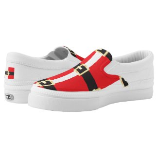 Santa Suit Sneakers