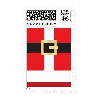 Santa Suit Stamps