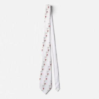 Santa Swan Neck Tie