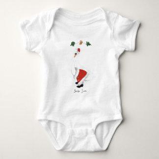 Santa Swan T Shirt