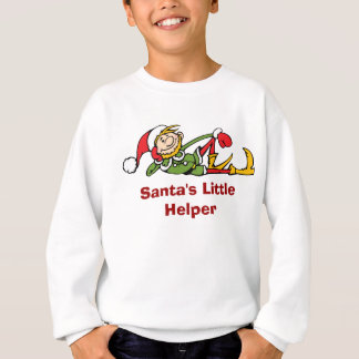 Santa Sweatshirt for Kids - Santa's Little Helper