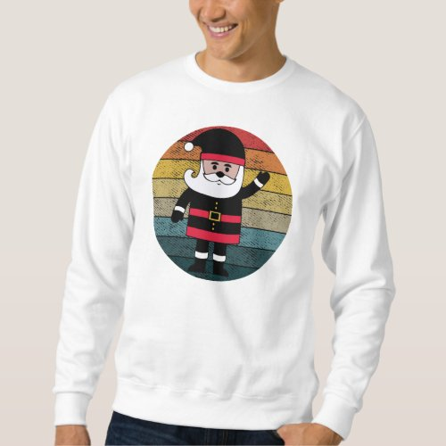 Santa Sweatshirt Santa Claus Sweatshirt