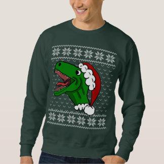 ugly christmas sweater dinosaur snowmen ugly christmas sweater dinosaur santa t rex - Ugly Christmas Sweater Dinosaur
