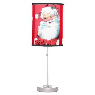Santa Table Lamp for Christmas