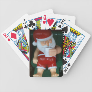 SANTA TAKE A BREAK PLAYING CARDS