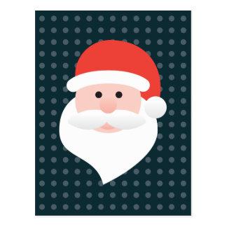 Santa Tarjeta Postal