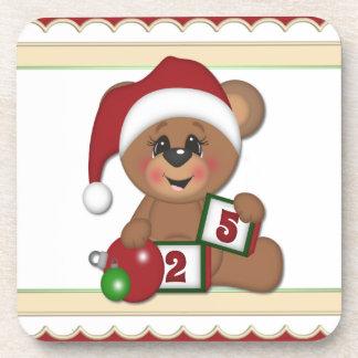 Santa Teddy Bear Coaster
