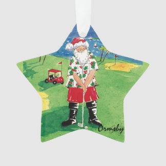 Santa-teeing-off