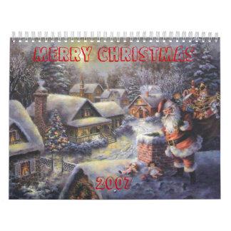 santa-tejado, FELICES NAVIDAD         , 2007 Calendario