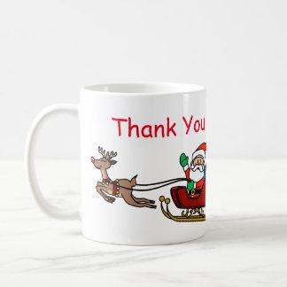 Santa Thank You Letter Mug