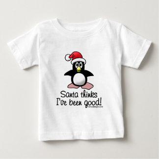 Santa Thinks I've Been Good! Baby T-Shirt