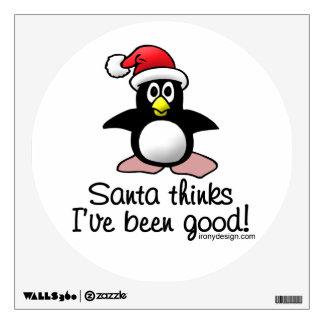 Santa Thinks I've Been Good! Wall Decal