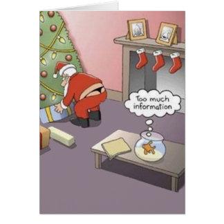 Santa Thong Card