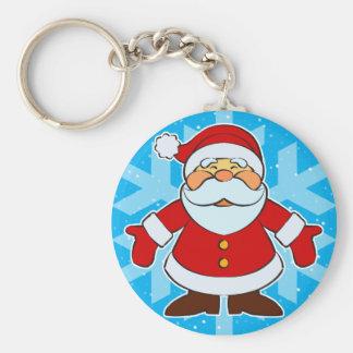 Santa Toon Keychains