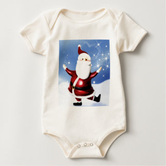 Santa Tops Bodysuit