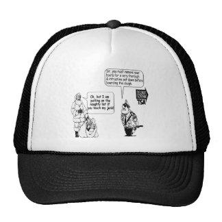 SANTA TOUCH MY JUNK TSA HAT