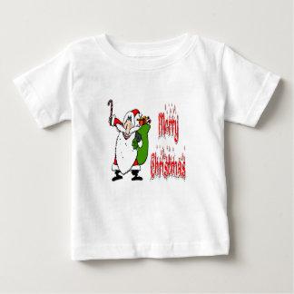 Santa & Toy Bag Baby T-Shirt