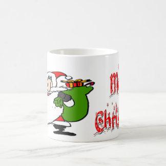 Santa & Toy Bag Classic White Coffee Mug