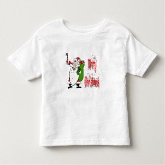 Santa & Toy Bag Toddler T-shirt