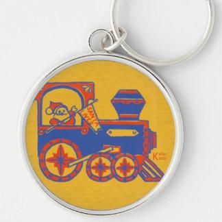 Santa Train Keychain
