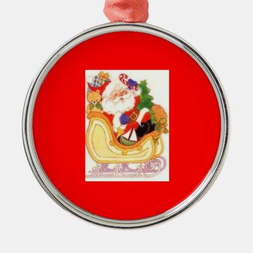 Santa Tree Ornament