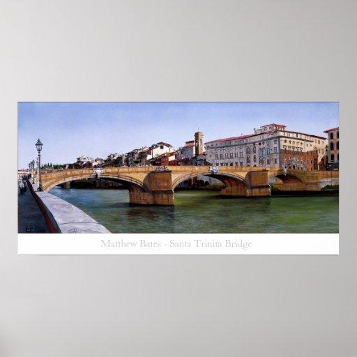Santa Trinita Bridge Poster
