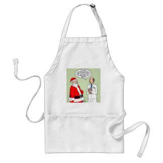 Santa Tummy Tuck Adult Apron