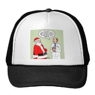 Santa Tummy Tuck Trucker Hat