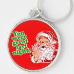 Santa tuvo gusto de él llaveros personalizados