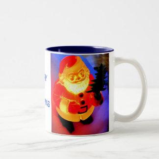 Santa Two-Tone Coffee Mug