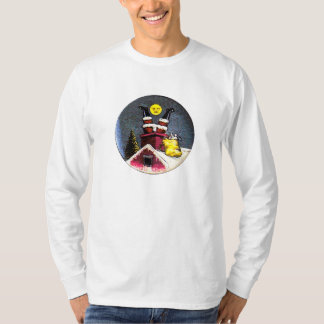 Santa Upside down - Shirt