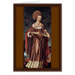 Santa Ursula de Hans Holbein el más joven Felicitacion