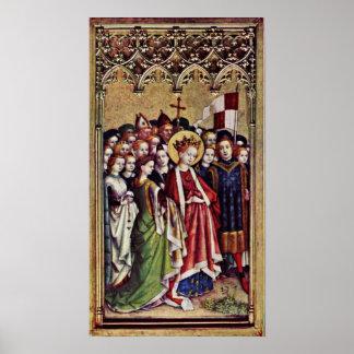 Santa Ursula y compañeros por la ubicación de Stef Poster