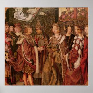 Santa Ursula y príncipe Etherius Poster