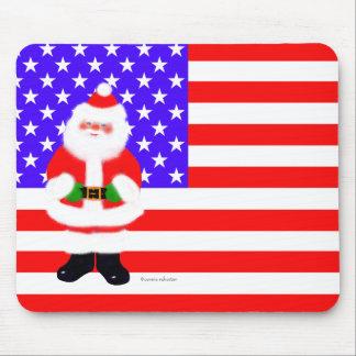 Santa USA Mousepad