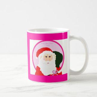 ¡Santa va rosa! Taza Clásica