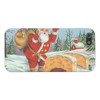 Santa viene a la ciudad iPhone 5 carcasas