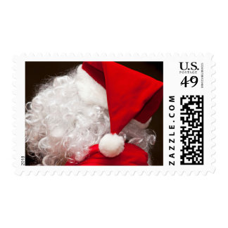 Santa, viewed from behind postage