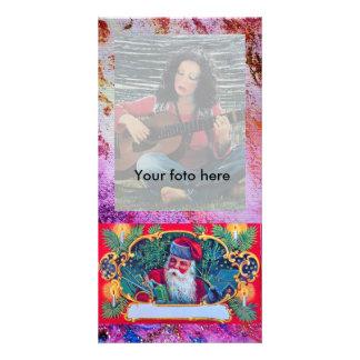 SANTA VINTAGE CARD