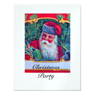 SANTA VINTAGE CHRISTMAS PARTY 1 ice Card