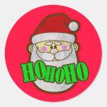 Santa Vintage Sticker