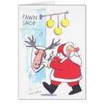 Santa Visits a Pawn Shop Card