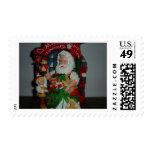 Santa Visits Stamp