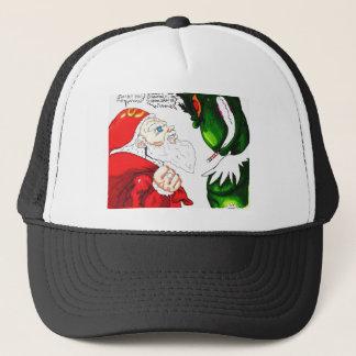 Santa vs. Mega-Grunch Trucker Hat