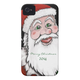 Santa w/ Merry Christmas and Current Year Case