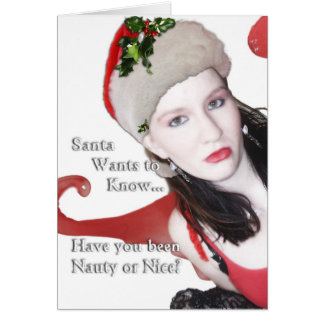Santa Wants to Know Greeting Cards