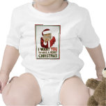 Santa Wants YOU to have a Merry Christmas Tee Shirts