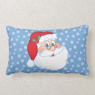 Santa Wearing Glasses Pillow