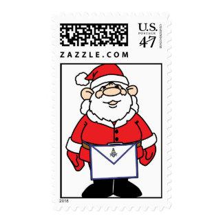Santa Wears an Apron Postage