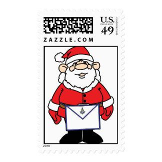 Santa Wears an Apron Stamps